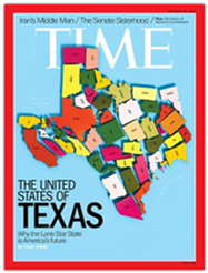 "TIME Magazine ""United States of Texas"" Cover"