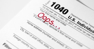 Top Ten Tax Mistakes to Avoid, Part 1