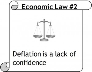 Economic Law #2: Deflation is a Lack of Confidence
