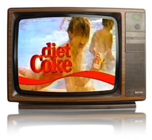 Old School Diet Coke Ad