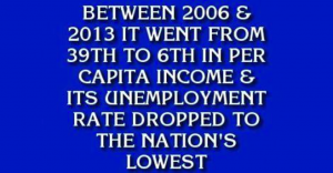 Jeopardy Answer - North Dakota