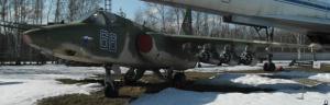 """Su-25 (NATO """"Frogfoot"""") attack aircraft at Monino, Russia"""