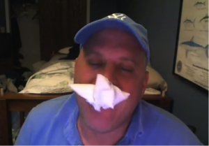Shoenice Eating Paper