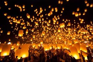 Lanterns in Chan Mai