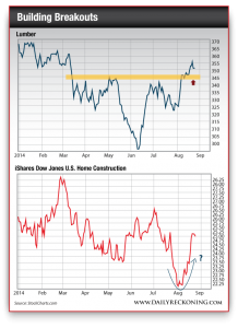 Lumber Sector vs. iShares Dow Jones U.S. Home Construction