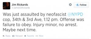 James Rickards Tweet