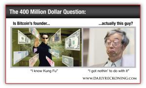 Neo from The Matrix vs. Bitcoin Founder Satoshi Nakamoto