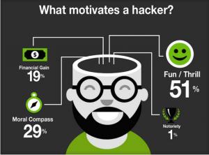 What Motivates a Hacker?