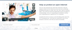 Vimeo Glitched Video to Protest for Net Neutrality