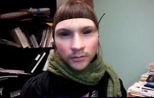 3-D Printed Leo Selvaggio Face