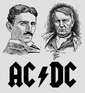 Nikola Tesla vs. Thomas Edison - AC vs. DC Current