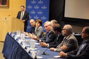 Panel at the Johns Hopkins Ebola Symposium