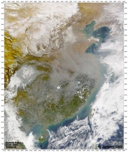 A View of China from Space