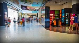 Malls silent in America