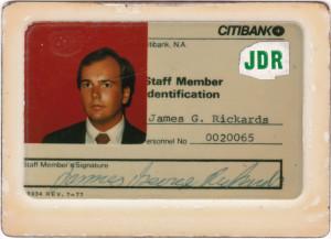 Jim Rickards' Secret Accounting Career