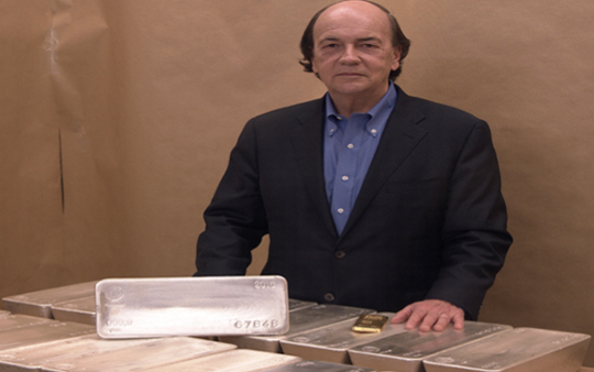 "Jim Rickards Interview: ""Silver will be at least  0 per ounce."""