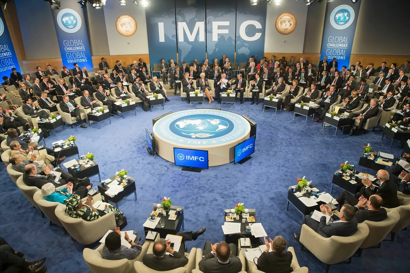 Behind Closed Doors At The IMF