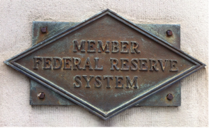 Federal Reserve Member Plaque