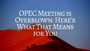 OPEC Meeting