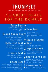 10 deals for Trump graphic