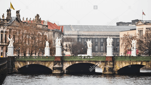 Schlossbrucke Bridge in Berlin