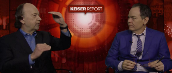 Jim Rickards appearance with Max Keiser of the Kesier Report in Oct. 2016