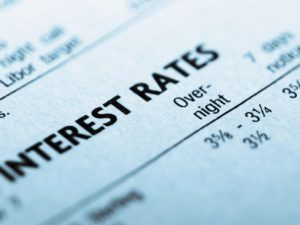 Even after December's little bump the nominal Fed funds target rate is still just about 0.50%. Interest rates are low. But the question arises… low compared to what?