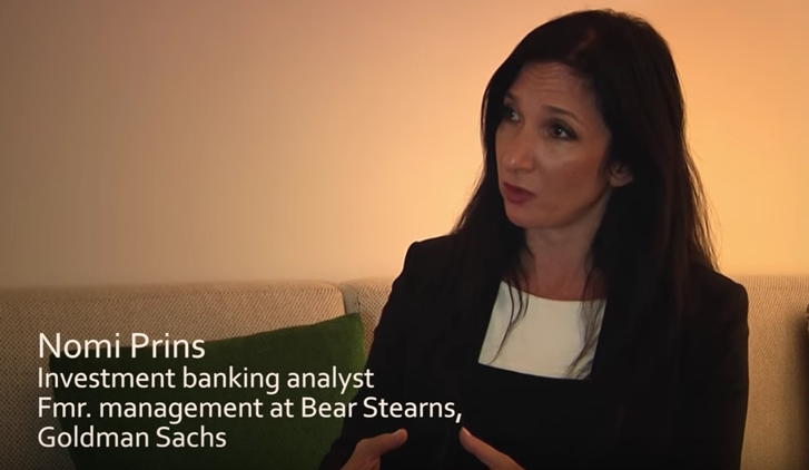 Nomi Prins Global Financial Crisis Worse