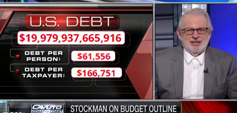 Stockman U.S National Debt Fiscal Discussion