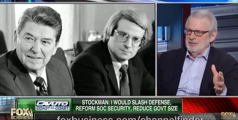 David Stockman Tax Cut Tax Reform