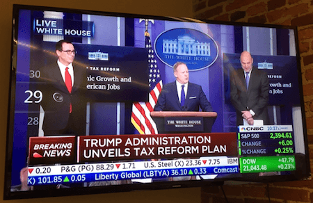 Trump tax announcement