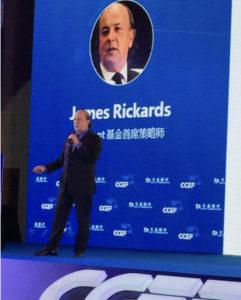 Jim Rickards China Financial Bubble