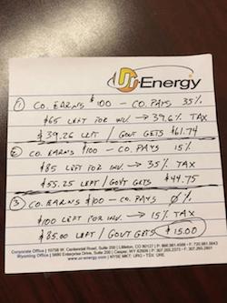 Energy note