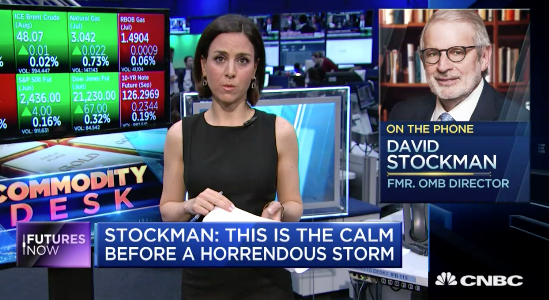 David Stockman Comey Storm Wall Street