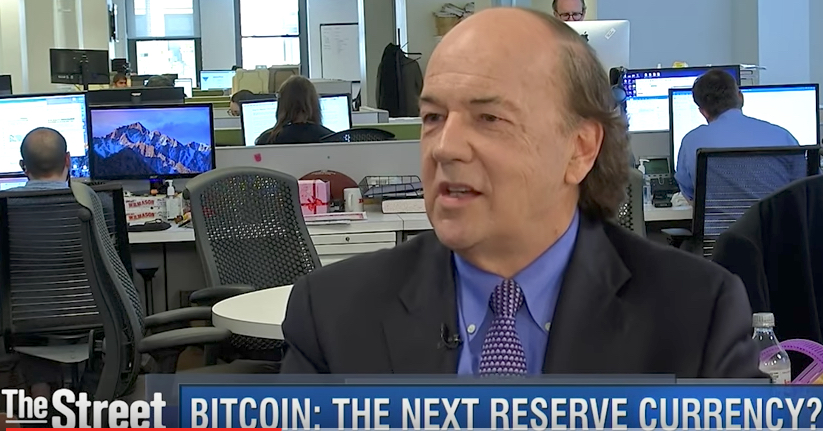 Jim Rickards Bitcoin Reserve Currency