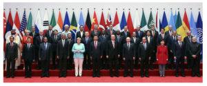 G20 summit in Hangzhou China
