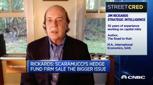 Jim Rickards Strategic Intelligence Scaramucci