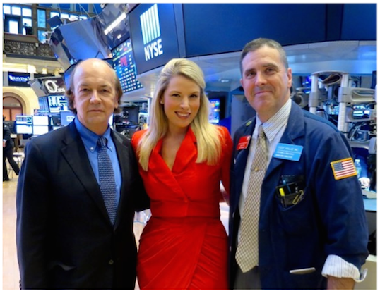 Jim at the NYSE