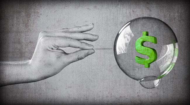 Age of Bubble Finance → Crackup Phase