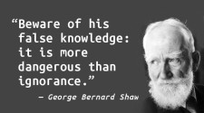Ignorance is Far less Dangerous than False Knowledge