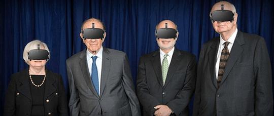 VR'ing With Yellen, Bernanke, Al and Volcker