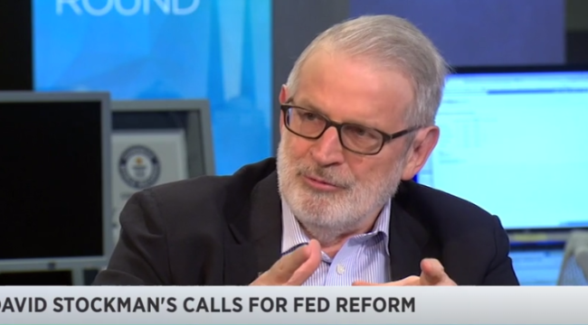 Stockman: The election will create market chaos